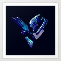 Mass Effect: Garrus Vakarian Art Print