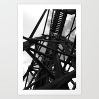 Historic Bridge Art Print