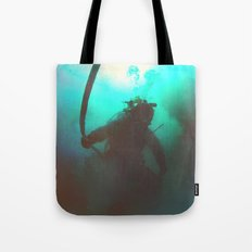 Space Boots Tote Bag