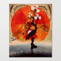 Umbrellaliensunshine: Na… Canvas Print