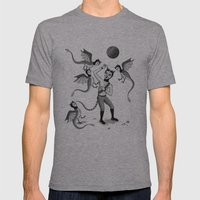 Wings And Talons Mens Fitted Tee Athletic Grey SMALL