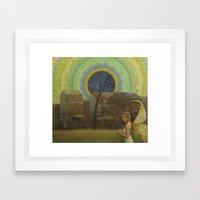 Apophenia Framed Art Print