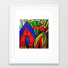 On the wall Framed Art Print