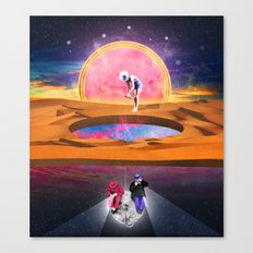 The Hole World Canvas Print