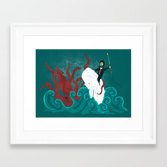 Dangerous Waters Framed Art Print