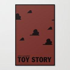 Toy Story   Minimalist Movie Poster Canvas Print