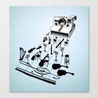 musical moment Canvas Print