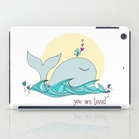 You Are Loved From The Deep Blue Sea iPad Case