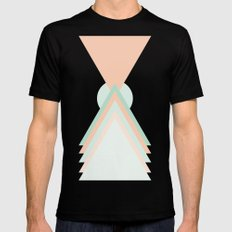 Icosahedron Black Mens Fitted Tee SMALL