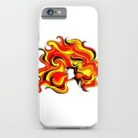 Your Hair Is On Fire iPhone 6 Slim Case