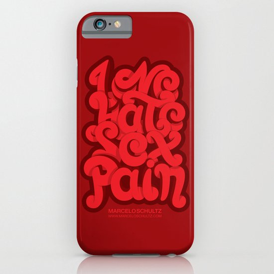 Love - Hate - Sex - Pain iPhone & iPod Case