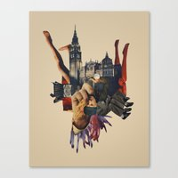 Backhand Canvas Print