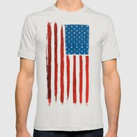 Money Country   Mens Fitted Tee Silver SMALL