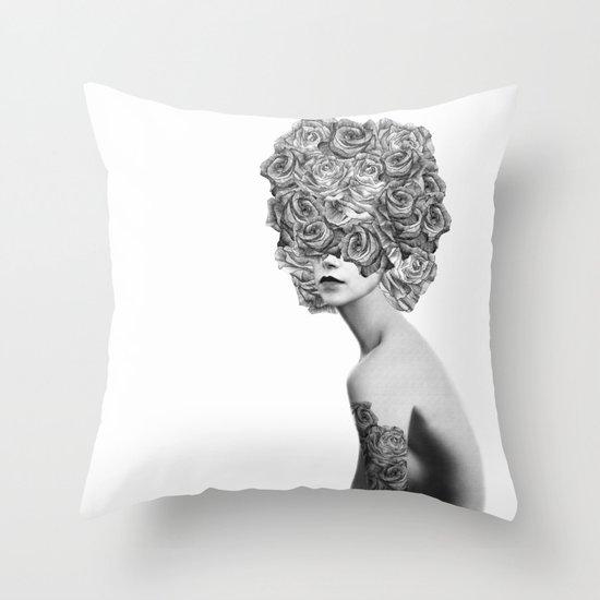 Rose #2 Throw Pillow
