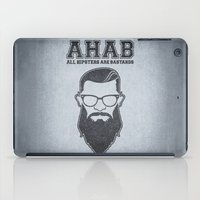 ALL HIPSTERS ARE BASTARDS - Funny (A.C.A.B) Parody  iPad Case