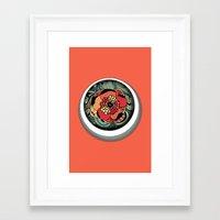 Profundidad Framed Art Print