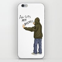 All Cops Are Bastard !!! iPhone & iPod Skin