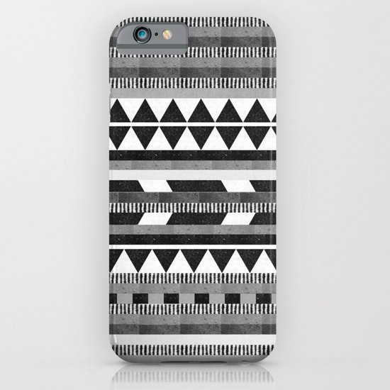 DG Aztec No.1 Monotone iPhone & iPod Case