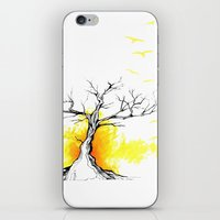 Tree of Light iPhone & iPod Skin