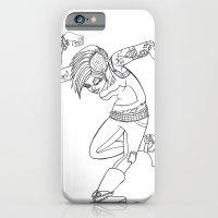 Punk grrrl iPhone 6 Slim Case