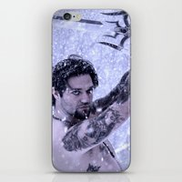 Bam Bam The Snow Warrior iPhone & iPod Skin