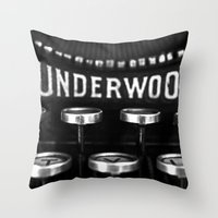 Vintage Style No. 5 Throw Pillow