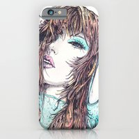 iPhone & iPod Case featuring Selina by Rachel E Murray