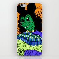 THE GREEN LADY. iPhone & iPod Skin