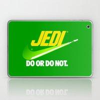 Brand Wars: Jedi - green lightsaber Laptop & iPad Skin