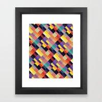 Geometri I Framed Art Print