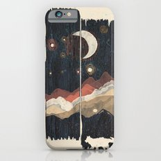 A Starry Night in the Mountains... iPhone 6 Slim Case