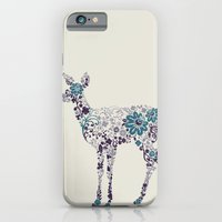 iPhone & iPod Case featuring Flower Deer by Ruxi Li