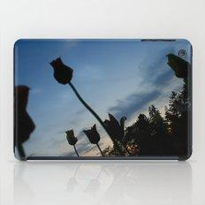 Flowers on the Moon iPad Case