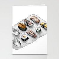 Pharmasushi Stationery Cards
