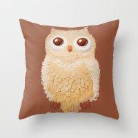 Owlmond 1 Throw Pillow