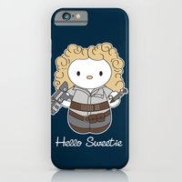 iPhone & iPod Case featuring Hello Sweetie by Mandrie