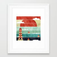 Coming Home. Framed Art Print