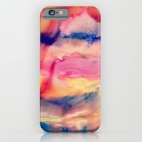 iPhone & iPod Case featuring Unicorn Blood and Melted Popsicles by Meirav Gebler