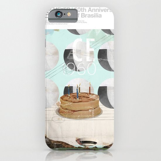 50th anniversary of the city of Brazil iPhone & iPod Case