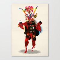 Diablo Canvas Print