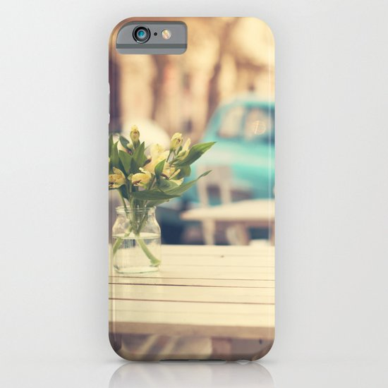 I'm gonna miss you a lot (Retro Pastel Coffee Shop in the Streets) iPhone & iPod Case