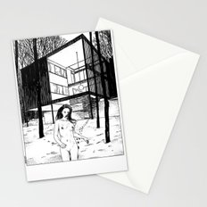 asc 2013 - Le bain nordique (The cold dip) Stationery Cards