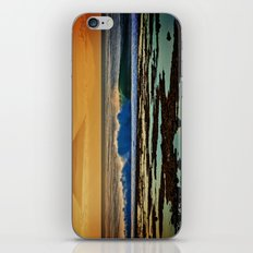 Indonesian Wave and Volcano iPhone & iPod Skin