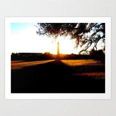Louisiana State University Bell Tower Art Print