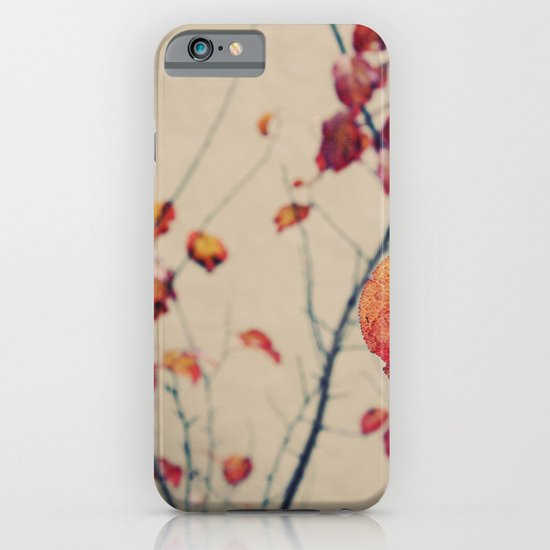 Contrasted fall iPhone & iPod Case
