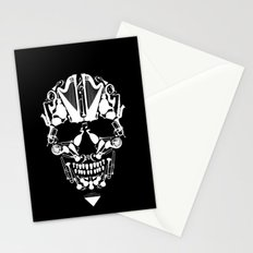 MUSICAL SKULL Stationery Cards