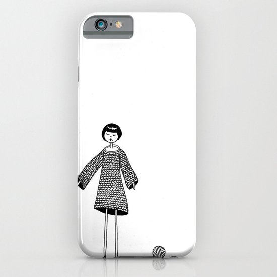 Knitting, gone awry. iPhone & iPod Case