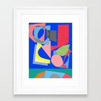 Both sides Framed Art Print