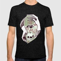 Handskull Mens Fitted Tee Tri-Black SMALL