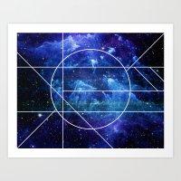 Destiny Nebula Art Print